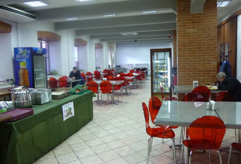 Кафе-столовая Время есть зал
