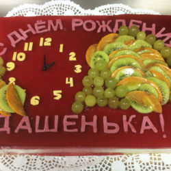 Торт с днем рождения на заказ в Санкт-Петербурге